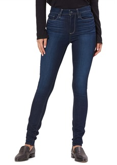 PAIGE Transcend - Hoxton High Waist Ultra Skinny Stretch Jeans (Pinetree)