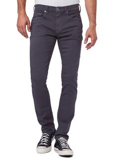 PAIGE Transcend Federal Men's Slim Straight Leg Jeans (Silky Grey)