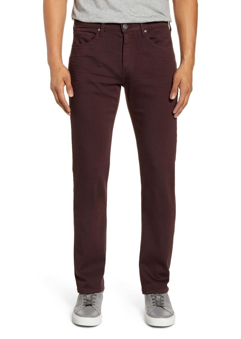 PAIGE Transcend Federal Slim Straight Leg Jeans (Burnt Tile)