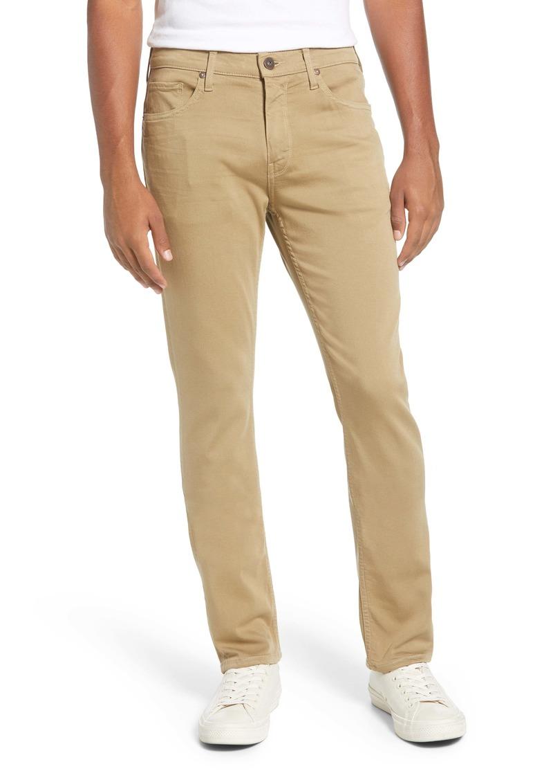 PAIGE Transcend Federal Slim Straight Leg Jeans (Gold Sun)