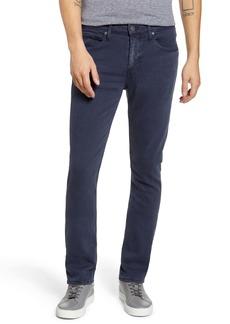 PAIGE Transcend Federal Slim Straight Leg Jeans (Vintage Naval Blue)