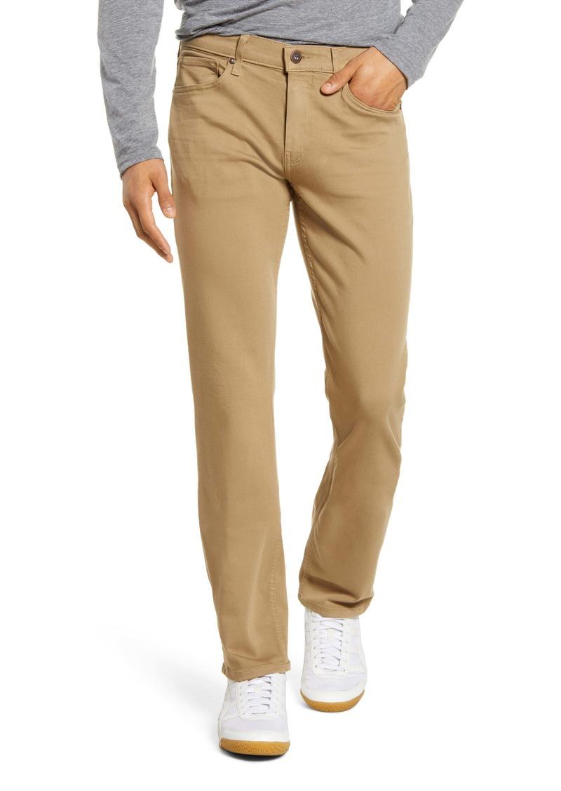 PAIGE Transcend Normandie Straight Leg Jeans (Golden Elm)