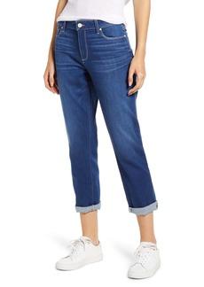 PAIGE Transcend Vintage - Brigitte Crop Boyfriend Jeans (Isle)