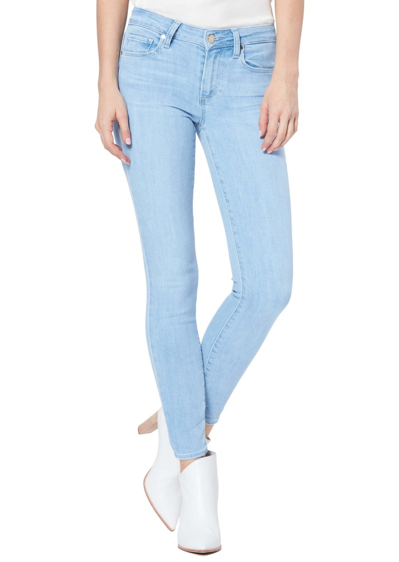 PAIGE Verdugo Ankle Skinny Jeans (Icicle)