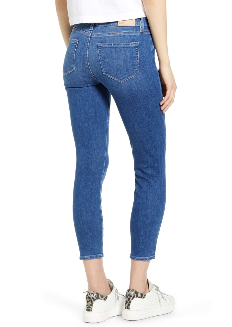 Verdugo Crop Skinny Jeans Forever 40 Off