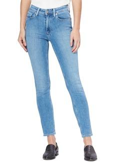 PAIGE Vintage - Hoxton High Waist Straight Leg Jeans (Hot Toddy)