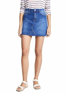PAIGE Women's Aideen Skirt  Blue
