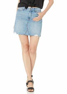 PAIGE Women's Alethea Skirt w/Raw Hem