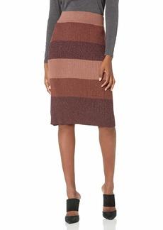PAIGE Women's Arken High Waist Midi Co-Ord Skirt  XS