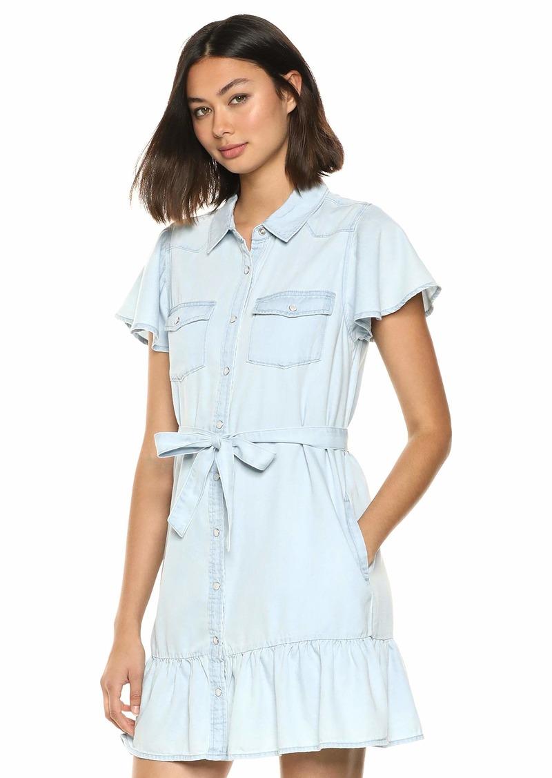 PAIGE Women's Callan Dress w/Western Pockets  S