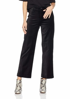 PAIGE Women's Nellie Culotte High Rise Wide Leg Ankle Jean