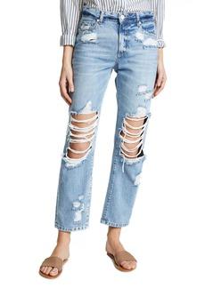 PAIGE Women's Noella Straight Leg Jeans