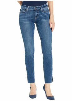 Paige Skyline Slim w/ Outseam Slit + Raw Hem in Mckay