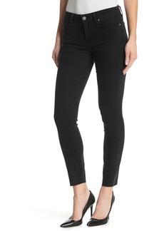 Paige Verdugo Ankle Raw Hem Skinny Jeans