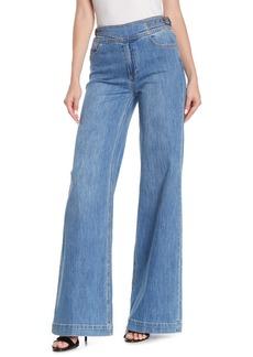 Paige Vintage Sutton Wide Leg Jeans