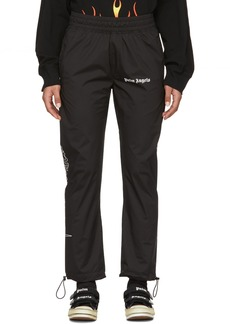 Palm Angels Black Goth After Sport Lounge Pants
