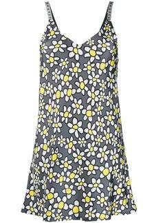 Palm Angels daisy-print slip dress