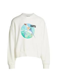 Palm Angels Fishing Club Sweatshirt
