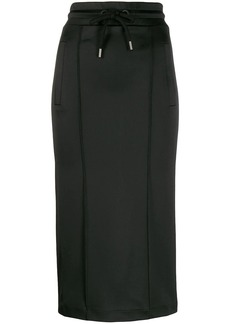 Palm Angels fitted sweat skirt