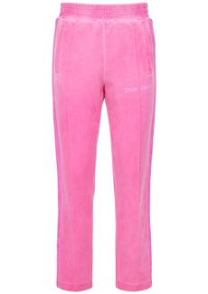 Palm Angels Garment Dyed Tech Jersey Track Pants