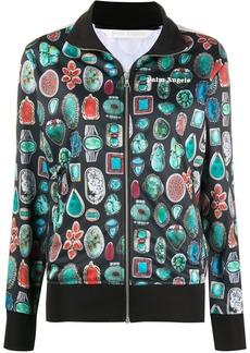 Palm Angels gemstone print track jacket