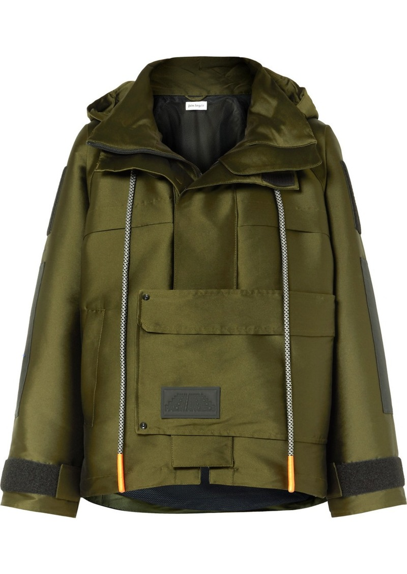 Palm Angels Hooded Canvas Parka