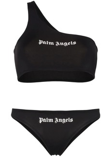 Palm Angels logo bikini set