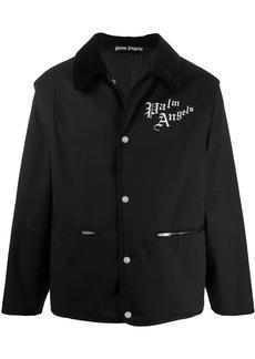 Palm Angels logo denim jacket