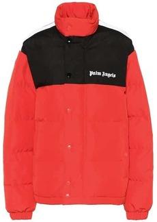 Palm Angels Logo puffer jacket