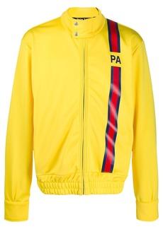 Palm Angels logo stripe track jacket