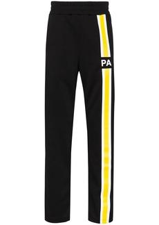 Palm Angels logo stripe track pants