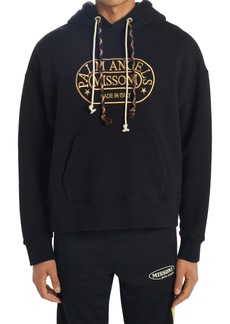Men's Palm Angels X Missoni Embroidered Logo Crop Hoodie