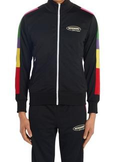 Men's Palm Angels X Missoni Stripe Logo Track Jacket
