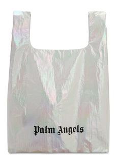 Palm Angels Metallic Nylon Tote Bag