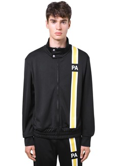 Palm Angels Monogram Tech Jersey Track Jacket