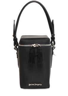 Palm Angels Nylon Top Handle Box Bag