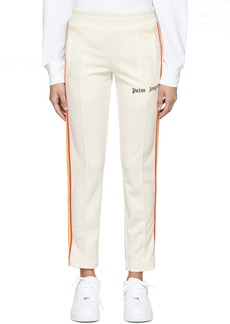 Palm Angels Off-White Rainbow Slim Track Pants
