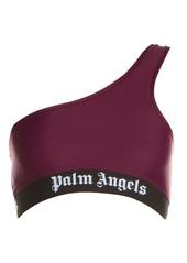 Palm Angels One-Shoulder Bra Top