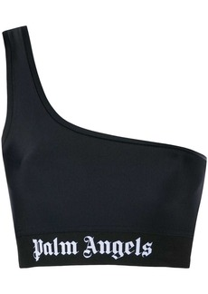 Palm Angels one shoulder cropped top