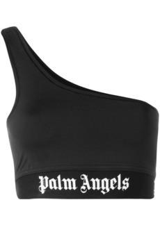 Palm Angels one shoulder logo top