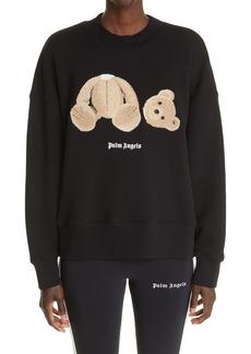 Palm Angels Headless Bear Appliqué Sweatshirt