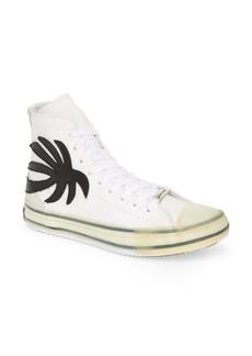 Palm Angels Palm Tree High-Top Sneaker (Men)