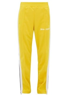 Palm Angels Side-stripe technical-jersey track pants