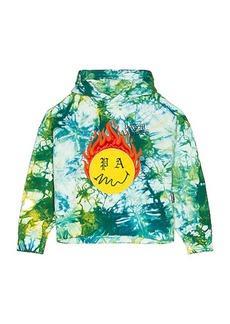 Palm Angels Tie Dye Burning Head Hoodie