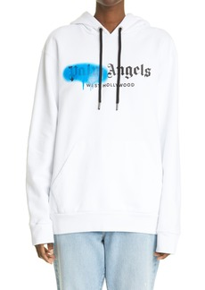 Palm Angels West Hollywood Logo Cotton Hoodie