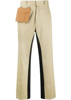 Palm Angels pocket straight-leg trousers