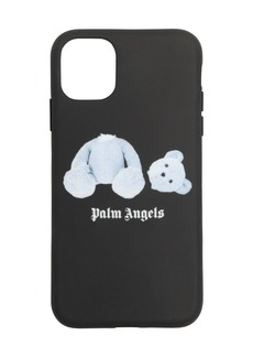 Palm Angels Printed Ice Bear Iphone 11 Pro Case