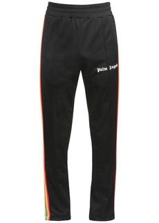 Palm Angels Rainbow Print Tech Jersey Track Pants