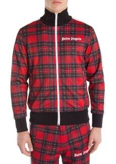 Palm Angels Royal Stewart Tartan Track Jacket