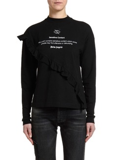 Palm Angels Sensitive Content Long-Sleeve Top